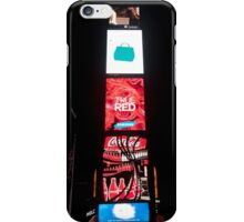 Times Square - New York City by night iPhone Case/Skin