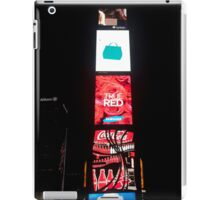 Times Square - New York City by night iPad Case/Skin