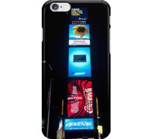 Times Square by Night - New York City iPhone Case/Skin