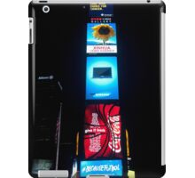 Times Square by Night - New York City iPad Case/Skin