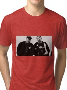 Classic Dr. Dre and Snoop Dogg Tri-blend T-Shirt
