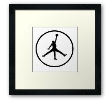 3 Legged Jordan Framed Print