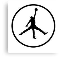 3 Legged Jordan Canvas Print