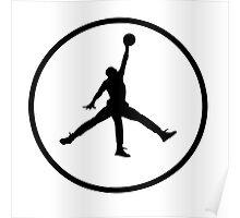 3 Legged Jordan Poster