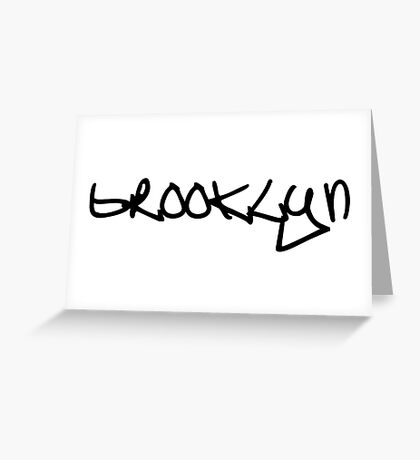 Graffiti - Brooklyn Greeting Card