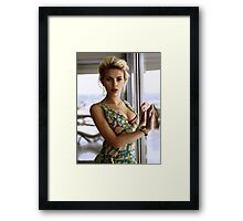Scarlett Johansson, ultimate perfection Framed Print