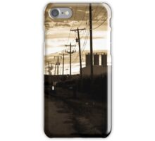 Small Town Power Lines iPhone Case/Skin