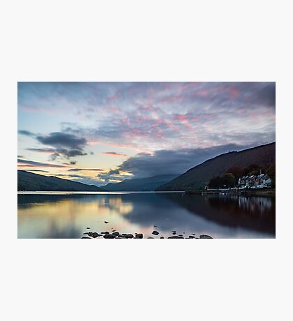 Perthshire peace, Loch Tay, Scotland Photographic Print