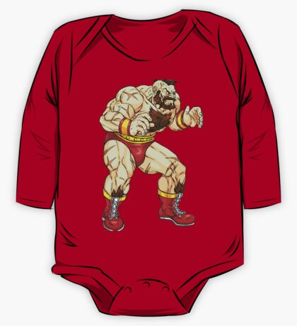Zangief - russian fighter One Piece - Long Sleeve