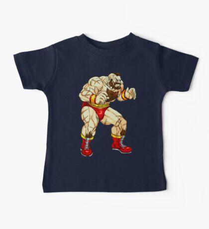 Zangief - russian fighter Baby Tee