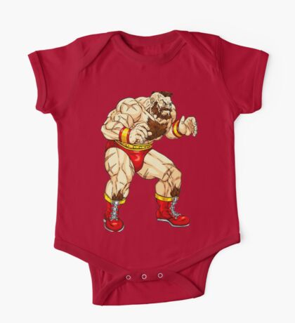 Zangief - russian fighter One Piece - Short Sleeve