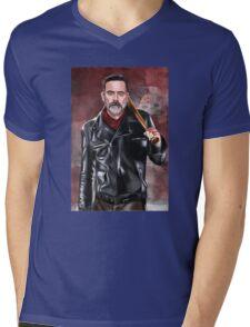 negan Mens V-Neck T-Shirt