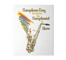 Saxophone Gift for a Saxophone Player Gallery Board