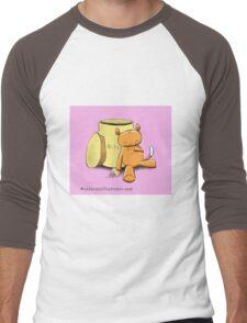 Ringo the Ringtail Possum & Biscuits Men's Baseball ¾ T-Shirt