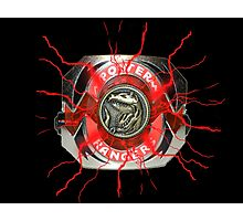 It's Morphin Time - TYRANNOSAURS Photographic Print