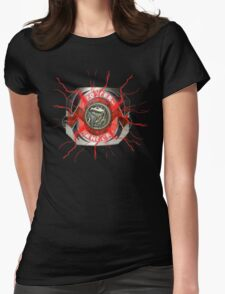 It's Morphin Time - TYRANNOSAURS Womens Fitted T-Shirt