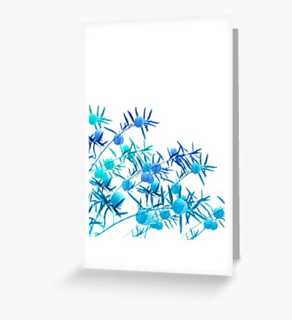 floral notes Greeting Card