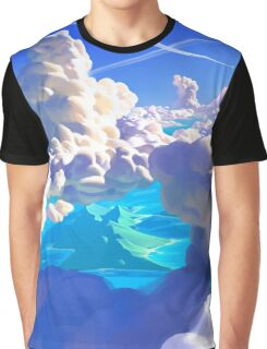 Ocean Clouds Graphic T-Shirt