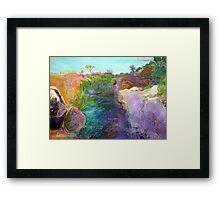 Mythic Land Framed Print