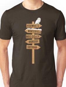 Lost? Unisex T-Shirt