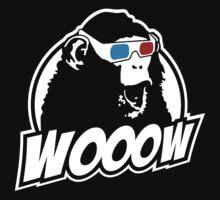 Wooow - 3D amazed Ape One Piece - Short Sleeve