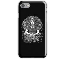 Divine Mother Gea Tree  BW iPhone Case/Skin