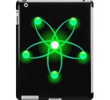 Atomic Orbit (Green) iPad Case/Skin