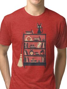 Ghibli shelf Tri-blend T-Shirt