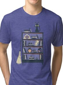 Ghibli shelf Tri-blend T-Shirt