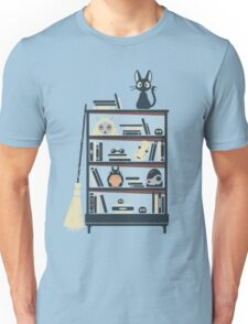 Ghibli shelf Unisex T-Shirt