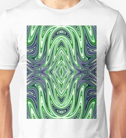 Green and blue scarab  Unisex T-Shirt