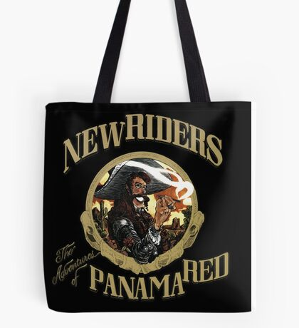 New Riders of the Purple Sage The Adventure of Panama Red Tote Bag
