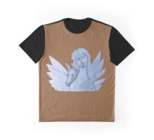 Fairy Angel and Unicorn Flight (Original Art by Alice Iordache)  Graphic T-Shirt