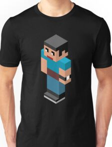 Isometric male person Unisex T-Shirt