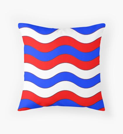 Iskybibblle Boutique Patterns   Flag Throw Pillow