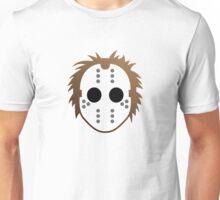 Mask of a serial killer Unisex T-Shirt