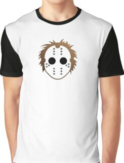 Mask of a serial killer Graphic T-Shirt