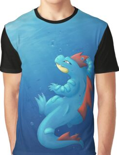 Aligatueur - Feraligatr Graphic T-Shirt