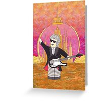 12th Doctor on Gallifrey Greeting Card