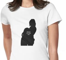 GLEGGIE - I WILL FIND YOU Womens Fitted T-Shirt