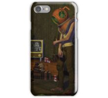 The Sad Diver - Living Room iPhone Case/Skin