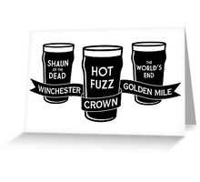 The Winchester, The Crown & The Golden Mile Greeting Card