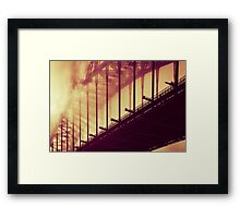 Rays of Colour - Warm Embrace Framed Print