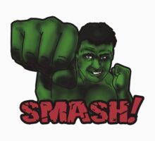 HULK SMASH! by Anna Welker