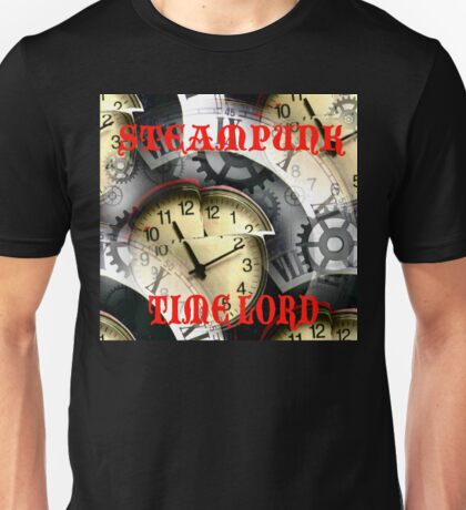 Steampunk Time Lord Unisex T-Shirt