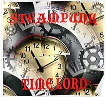 Steampunk Time Lord Poster