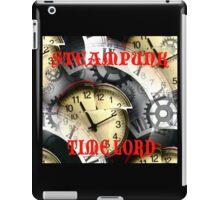 Steampunk Time Lord iPad Case/Skin