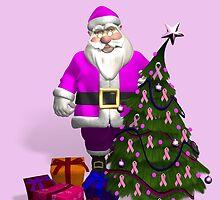 Santa Claus Dressed In Pink by Mythos57