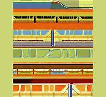 Bay Lake Tower Monorail by zmayer