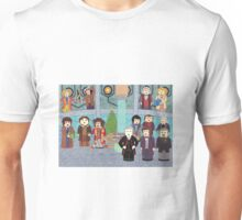 Doctor Who Christmas - Doctors' Reunion Unisex T-Shirt